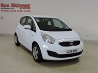 USED 2014 14 KIA VENGA 1.4 1 AIR ECODYNAMICS 5d 89 BHP