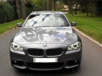 USED 2011 BMW 5 SERIES 3.0 530d M Sport Touring 5dr HUGE SPEC-GREAT EXAMPLE BMWSH-REVERSE CAM-HEATED SEATS