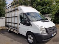 USED 2014 14 FORD TRANSIT 350 2.2 125 BHP LONG HI FWD GLASS RACK - CHOICE OF 70 VANS