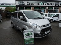 2015 FORD TOURNEO CUSTOM 2.2 300 LIMITED TDCI 9 SEAT MINIBUS125BHP CHOICE IN STOCK £15995.00