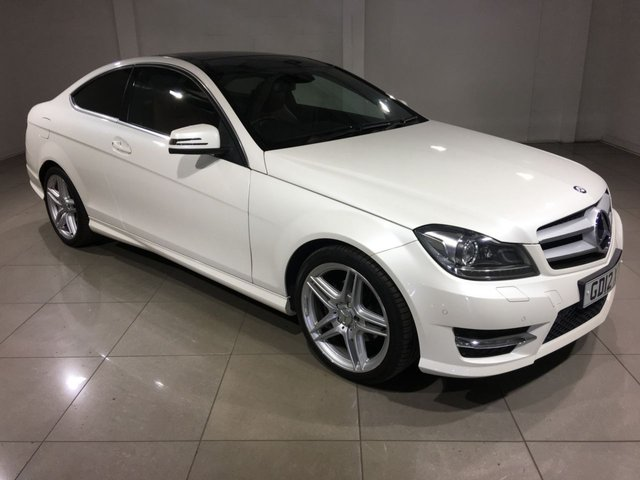 View our 2012 12 MERCEDES-BENZ C CLASS 1.8 C250 BLUEEFFICIENCY AMG SPORT 2d AUTO 202 BHP