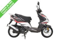 USED 2018 SINNIS Harrier 125  EFi  NEW MODEL ***FREE DELIVERY WITHIN 60 MILES***COLOUR GREY/RED***