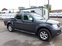 USED 2014 14 NISSAN NAVARA 2.5 DCI TEKNA 4X4 DOUBLE CAB (188 BHP) 6 SPEED, SATNAV, CRUISE, LEATHER, FULL ELECTRIC PACK