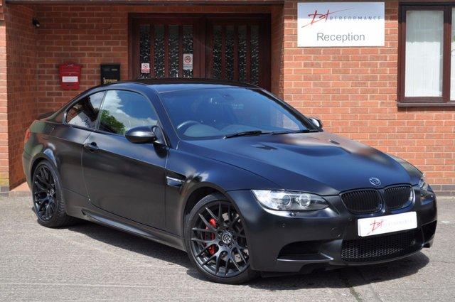 2011 11 BMW M3 4.0 M3 2d AUTO 415 BHP DCT FROZEN BLACK EDITION