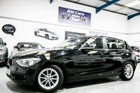 2014 BMW 1 SERIES 1.6 116D EFFICIENTDYNAMICS BUSINESS 5d [SAT NAV+LEATHER+B/TOOTH+ALLOYS] £10150.00