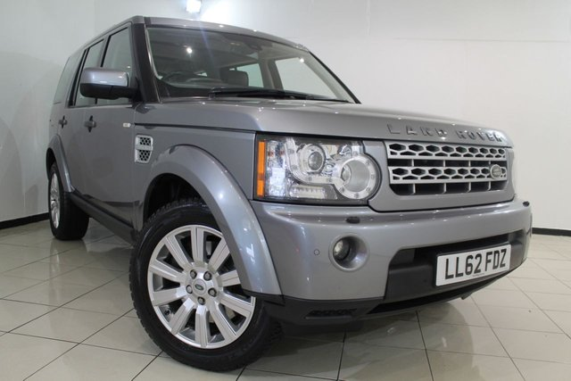 View our 2012 62 LAND ROVER DISCOVERY 3.0 4 SDV6 HSE 5DR AUTOMATIC 255 BHP