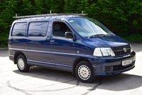 2009 TOYOTA HI-ACE 2.5 280 SWB D-4D 95 5d 95 BHP LOW ROOF DIESEL PANEL MANUAL VAN £5990.00