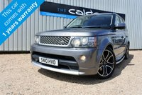 USED 2010 10 LAND ROVER RANGE ROVER SPORT 3.6 TDV8 AUTOBIOGRAPHY LE SPORT 5d AUTO 269 BHP