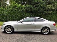 USED 2015 15 MERCEDES-BENZ C CLASS 2.1 C250 CDI AMG SPORT EDITION PREMIUM PLUS 2d AUTO 202 BHP COUPE