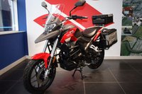 USED 2017 17 SINNIS TERRAIN 125 WITH 3 BOX LUGGAGE. NEW FOR 2017 ***FREE DELIVERY WITHIN 60 MILES***COLOURS ROSSO RED OR SATIN SILVER