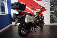 USED 2018 SINNIS TERRAIN 125 WITH 3 BOX LUGGAGE. NEW MODEL ***FREE DELIVERY WITHIN 60 MILES***COLOURS ROSSO RED OR SATIN SILVER