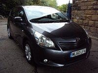 USED 2010 60 TOYOTA VERSO 1.8 TR VALVEMATIC 5d AUTO 145BHP 7 SEATS+PANORAMIC SUNROOF+2KEY