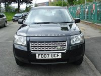 USED 2007 07 LAND ROVER FREELANDER 2 2.2 TD4 S 5d 159BHP 2 KEEPERS+FSH 10STAMPS+TOPMPG+