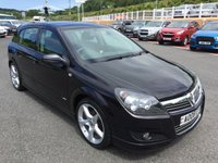 USED 2008 08 VAUXHALL ASTRA 1.8 SRI EXTERIOR PACK 5d 138 BHP X-Pack Exterior, VXR Type alloys, low miles & service history