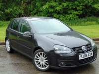 USED 2009 09 VOLKSWAGEN GOLF 2.0 SPORT TDI AUTOMATIC FULL LEATHER AND FULL SERVICE HISTORY