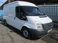 2013 FORD TRANSIT 280 MWB Medium roof 100PS *AIR CON*ONLY 14000 MILES* £9495.00