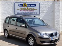 USED 2009 59 VOLKSWAGEN TOURAN 1.9 S TDI 5d 103 BHP Full Service History HPI Clear   0% Deposit Finance Available