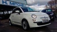 USED 2013 63 FIAT 500 1.2 LOUNGE 3d 69 BHP £0 Tax + Bluetooth