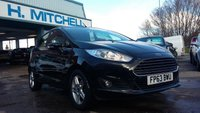 USED 2013 63 FORD FIESTA 1.0 ZETEC 5d 99 BHP £0 Tax + Bluetooth