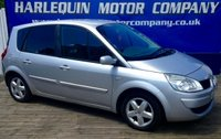 USED 2007 07 RENAULT SCENIC 1.6 EXTREME VVT 5d 110 BHP METALLIC SILVER RENAULT SCENIC 1.6 EXTREME AIR CON REMOTE LOCKING SUPERB THROUGHOUT