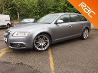 USED 2011 AUDI A6 2.0 AVANT TFSI S LINE SPECIAL EDITION ESTATE, FULL LEATHER, SAT NAV 10 SERVICES, FULL HEATED BLACK LEATHER, SAT NAN, BLUETOOTH,
