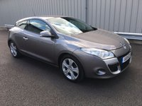 USED 2011 11 RENAULT MEGANE 1.5 DYNAMIQUE TOMTOM DCI ECO 3d 110 BHP COUPE £20 PER YEAR TAX, JUST 69K MILES, RAC WARRANTY