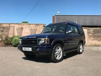 USED 2003 03 LAND ROVER DISCOVERY 2.5 TD5 ES 5d AUTO 136 BHP This vehicle comes fully serviced, with a 6 MONTHS renewable warranty,12 Months M.O.T, Fully prepared ready for 12 months hassle free motoring
