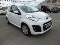 USED 2013 63 CITROEN C1 1.0 VTR 3d 67 BHP ZERO ROAD TAX AND UP TO 74 MPG, GOOD OR BAD CREDIT * WE CAN HELP