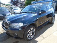 USED 2012 12 BMW X5 3.0 XDRIVE30D M SPORT 5d AUTO 241 BHP DEALER + FAMILY OWNED WITH FULL DEALER SERVICE HISTORY