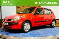 2004 RENAULT CLIO 1.1 EXPRESSION 16V 5d 75 BHP £994.00