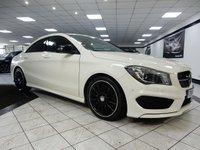 2014 MERCEDES-BENZ CLA CLA220 CDI AMG SPORT AUTO 170 BHP £21475.00