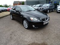 USED 2007 57 LEXUS IS 2.5 250 SE 4d 204 BHP 4 SERVICE STAMPS PLUS OUR SERVICE MOT TILL NOVEMBER 2017 2 KEYS HIGH SPECIFICATION