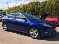 USED 2014 14 FORD FOCUS 1.6 ZETEC 5d AUTOMATIC  1 OWNER FROM NEW NO DEPOSIT PCP/HP FINANCE ARRANGED , APPLY HERE NOW