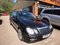 USED 2009 09 MERCEDES-BENZ E CLASS 3.0 E280 CDI SPORT 5 DOOR ESTATE AUTOMATIC 187 BHP IN BLACK APPROVED CARS ARE PLEASED TO OFFER THIS  MERCEDES-BENZ E CLASS 3.0 E280 CDI SPORT 5 DOOR ESTATE AUTOMATIC WITH A FULL SERVICE HISTORY WITH LOTS OF EXTRAS .THIS CAR IS DUE INTO STOCK 19/05/17 SO IF YOUR INTERESTED OR WANT TO HOLD THE CAR PLEASE CALL US ON 01622 871555.