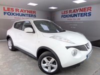 USED 2014 14 NISSAN JUKE 1.6 VISIA 5d 93 BHP Full NIssan service history , Air conditioning , 44k miles