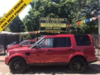 USED 2014 14 LAND ROVER DISCOVERY 3.0 SDV6 GS 5d AUTO 255 BHP STUNNING FIRENZE RED. CHEAPEST LIKE FOR LIKE ON AUTOTRADER.