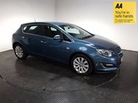 USED 2013 13 VAUXHALL ASTRA 2.0 SE CDTI 5d 162 BHP FSH-LOW MILEAGE-LEATHER-ALLOYS-A/C