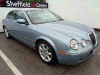 2005 JAGUAR S-TYPE 2.7 V6 SE 4d AUTO 206 BHP £2475.00