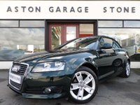 USED 2010 10 AUDI A3 CABRIOLET 1.6 TDI SPORT CONVERTIBLE ** LEATHER ** F/SH ** ** HEATED LEATHER * FULL SERVICE HISTORY **