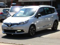 2014 RENAULT SCENIC 1.6 GRAND DYNAMIQUE TOMTOM BOSE PLUS DCI S/S 5d 130 BHP £SOLD