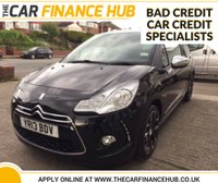2013 CITROEN DS3 1.6 E-HDI AIRDREAM DSPORT PLUS 3d 111 BHP £8995.00