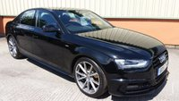 2015 AUDI A4 2.0 TDI S LINE BLACK EDITION PLUS 4d 148 BHP £SOLD