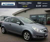USED 2010 10 VAUXHALL CORSA 1.2 ENERGY 3d 83 BHP NO DEPOSIT FINANCE AVAILABLE.