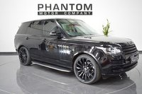 USED 2015 64 LAND ROVER RANGE ROVER 3.0 TDV6 VOGUE SE 5d AUTO 258 BHP