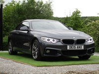 USED 2015 15 BMW 4 SERIES 2.0 420D M SPORT 2d 188 BHP COUPE