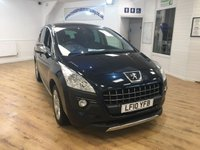 2010 PEUGEOT 3008 2.0 HDI EXCLUSIVE 5d 150 BHP £5995.00