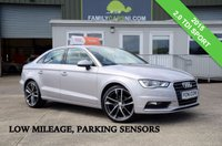 USED 2015 AUDI A3 2.0 TDI SPORT 4d 148 BHP *LOW MILEAGE* *FROM £199 MONTHLY*