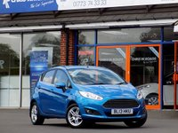 USED 2013 13 FORD FIESTA 1.2 ZETEC 5dr *ONLY 9.9% APR with FREE Servicing*
