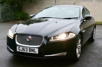 USED 2013 63 JAGUAR XF 2.2 D LUXURY 4d AUTO 163 BHP LUXURY -- 1 Owner -- Full Jaguar Service History -- 2 Keys + Docs -- Leather Interior --  Electric Seats -- Electric Mirrors/Windows -- Cruise Control -- Dual Zone Climate Control