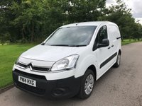 2014 CITROEN BERLINGO 1.6 850 LX L1 HDI 90 BHP ONE OWNER LOW MILES FULL SERVICE HISTORY £5995.00